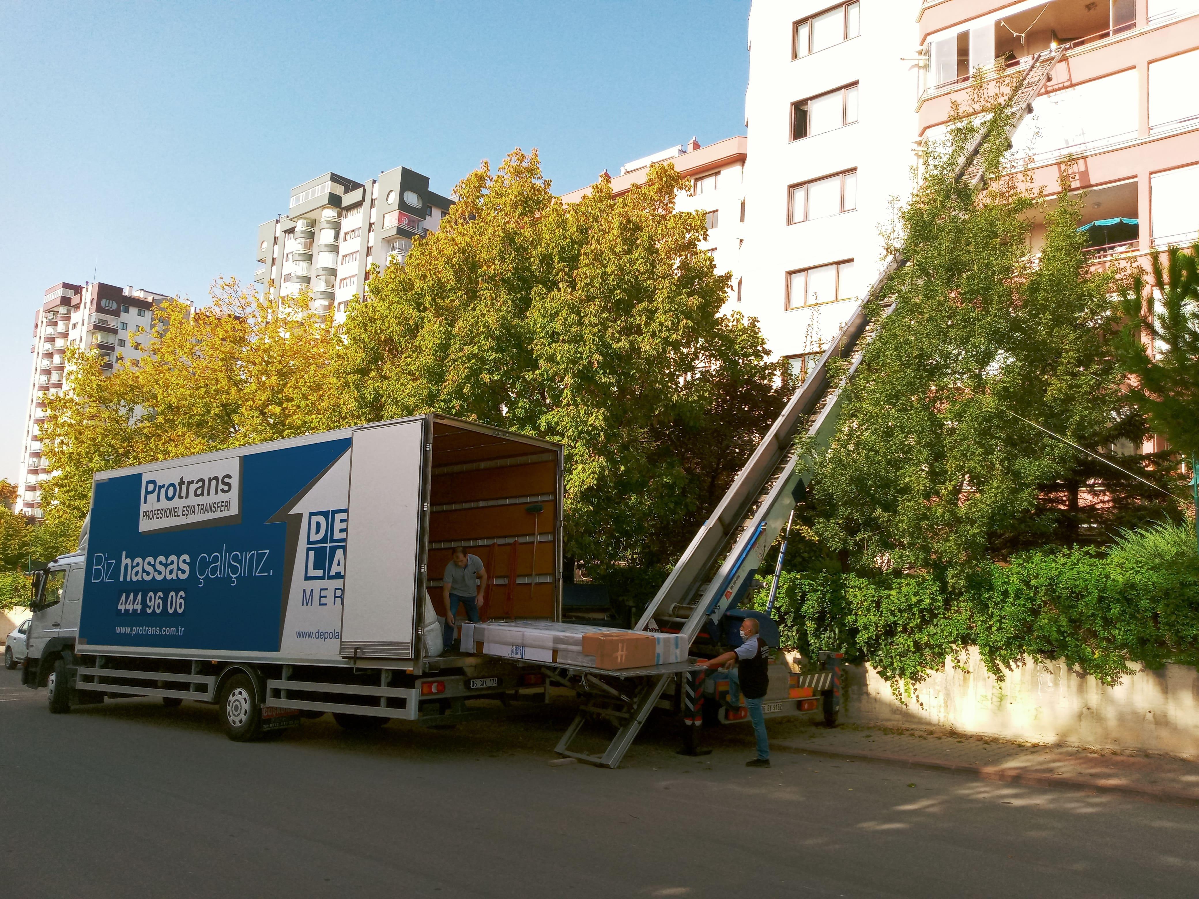 Evden Eve Asansörlü Taşımacılık