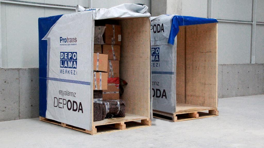 Depolama Merkezi - Eşyalarınız Depoda